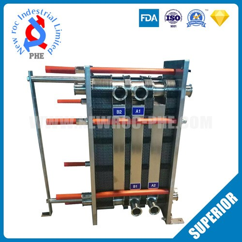 Plate Heat Exchanger For Medicine And Food Industry