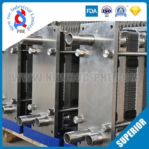 Beer Wort Counterflow Plate Heat Exchanger
