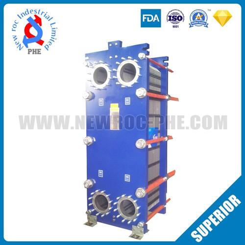 China Cross - Flow Industrial Sea Water Plate Heat Exchanger