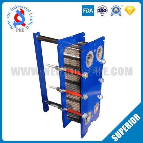 Commercial Gasketed Titanium Plate Type Heat Exchanger