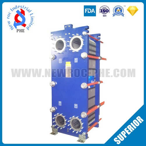 Cross Flow Plate Heat Exchanger In Petrochemical