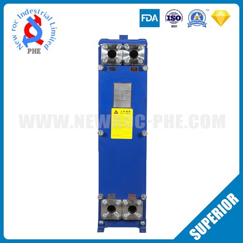 Food Industry Plate Heat Exchanger Cold Pasteurized