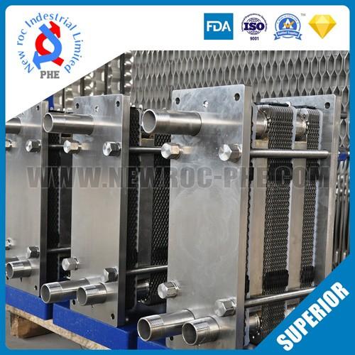 Gasket PHE Sanitary Plate Heat Exchanger