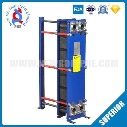 Glucose Syrup Cross Flow Plate Heat Exchanger