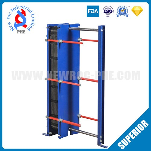 High Heat Transfer Efficiency Stainless Steel Plate Heat Exchanger