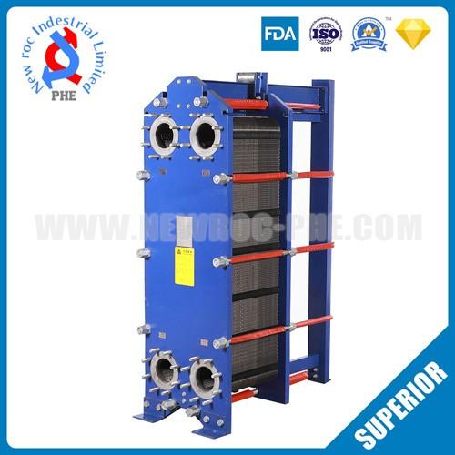 High Pressure Titanium Heat Exchanger In Machinery