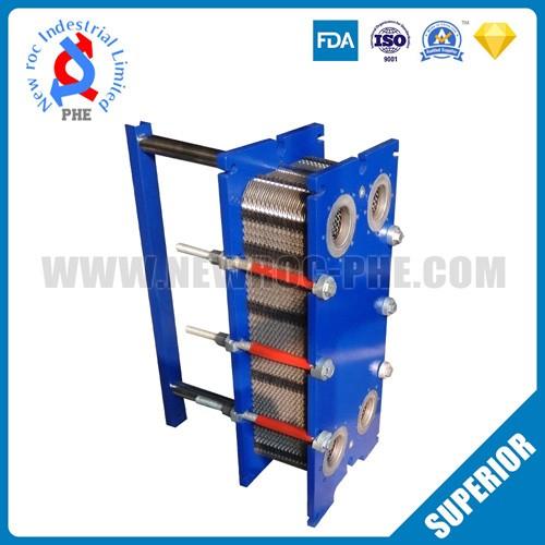 New Design High Efficiency Counterflow Plate Heat Exchanger
