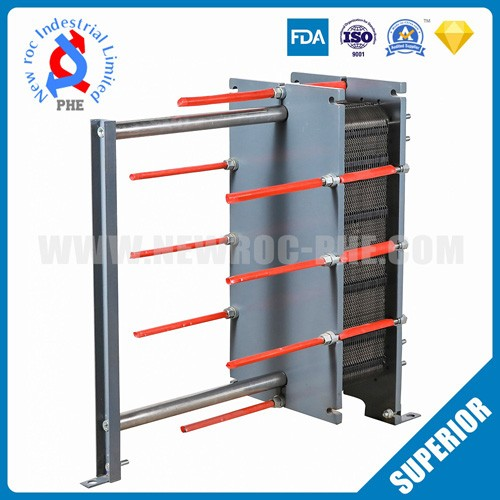 Industrial Water Cool Chiller Refrigerated Plate Heat Exchanger