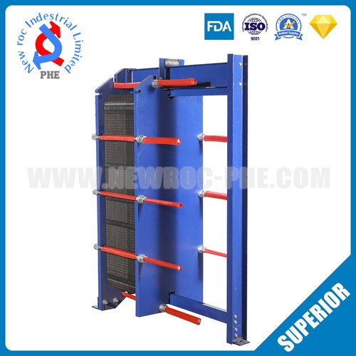 Industrial Heat Exchanger For Oil Cooling