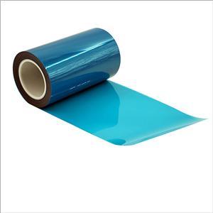 Blauer Schutzfilm aus Polyethylen mit geringer Adhäsionskraft