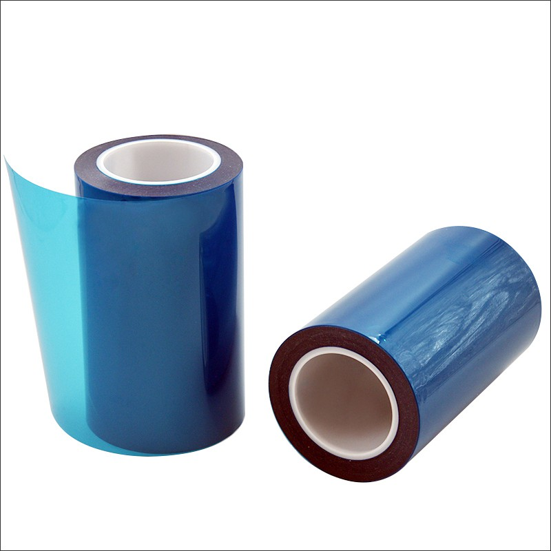 Graphite Die Cutting Silica Adhesive Protective Membrane For Bright Surface Of Graphite One side glue