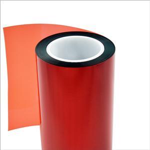 Roter Schutzfilm Anti Kleberückstand für Metall