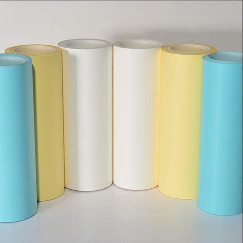 120グラム黄色の片側ペア可塑化剥離紙