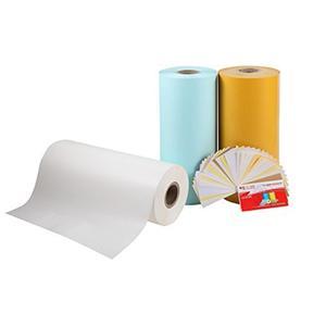 کاغذ انتشار سفید یک طرفه 120 گرم شیشه ای غیر پلاستیک