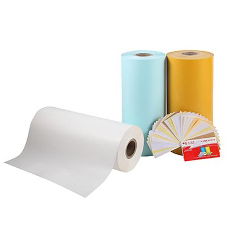Einseitiges weißes Trennpapier für klebende Materialien