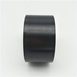 High temperature resistant and good mechanical property matt black PI membrane