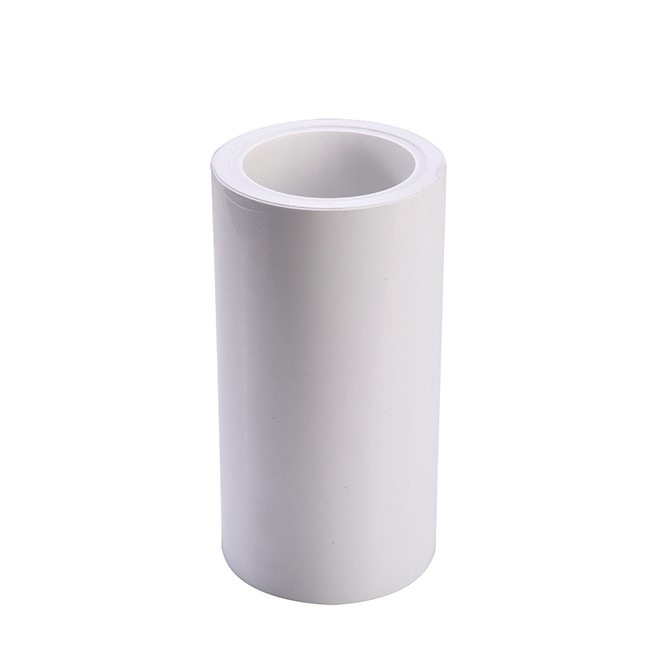 ≤3g release force and high residual rate UV curing white PE release liner substitue for CPW30A
