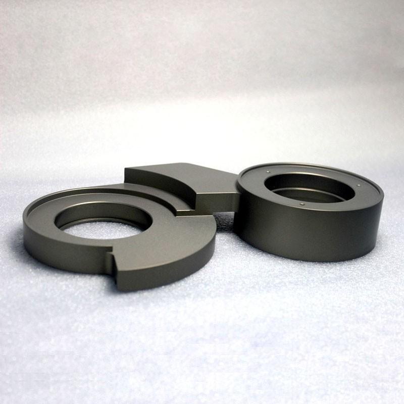 CNC Turning Parts Aluminum Teflon Coating