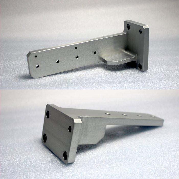 Parti di fresatura in alluminio anodizzato duro