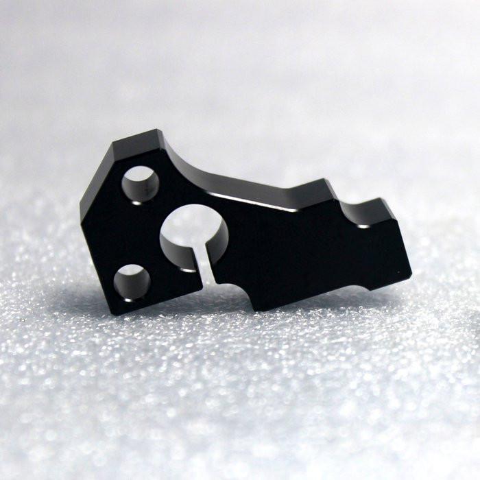 Parti di fresatura CNC Acciaio ossido nero