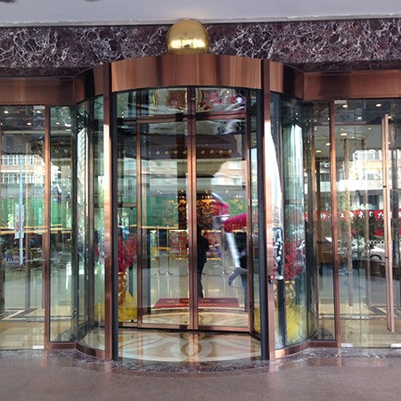 Over Size Automatic Revolving Door