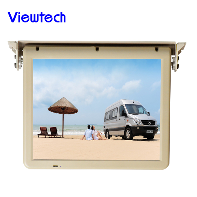 17 inch Motorized LCD Car monitor