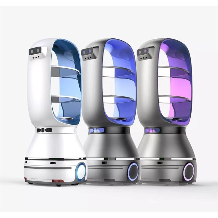 Smart Restaurant Service Robot Waiter Automatic navigation wifi internet Delivery Robot Mesero For Bar Beverage Shops
