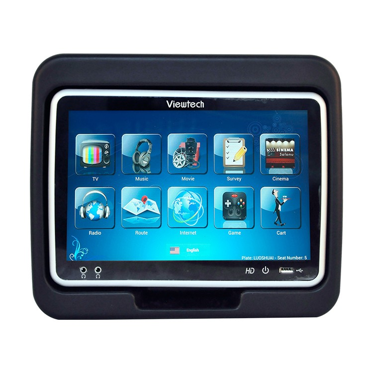 10.1 Inch touch screen monitor wifi bus entertainment VOD system Manufacturers, 10.1 Inch touch screen monitor wifi bus entertainment VOD system Factory, Supply 10.1 Inch touch screen monitor wifi bus entertainment VOD system