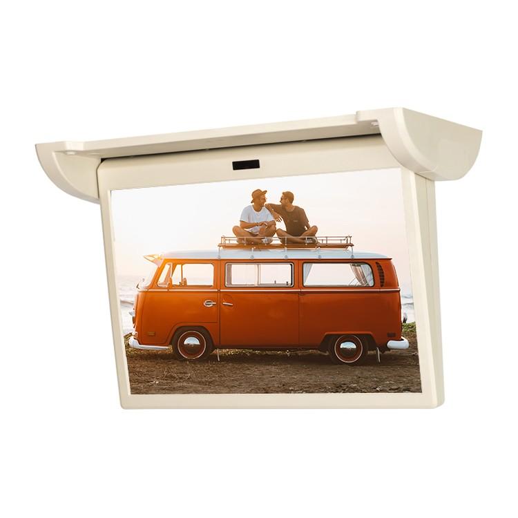 15.6 inch Stepper Motor Monitor Led Car Monitor 12v Car tv USB HD Motorized Lcd Monitor For Business car