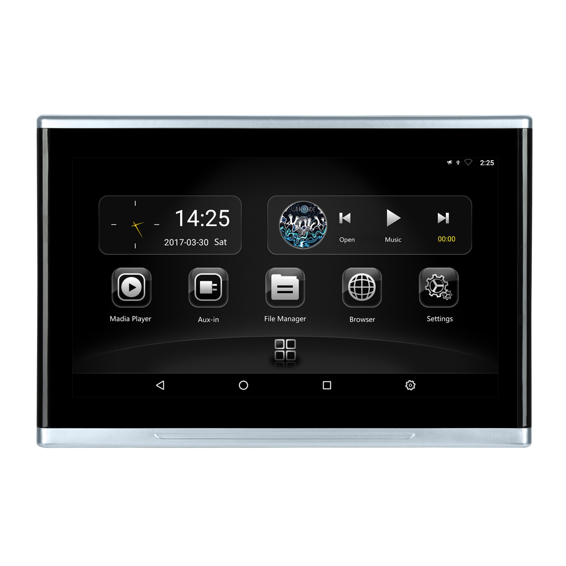 12 inch 4K Car Video Player mp5 Android 9.0 With IPS Touch Screen HD Input Wifi bluetooth Pantalla Lcd Reposacabezas