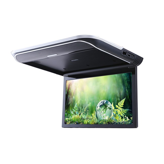 Super slim Wide Viewing angle 15.6 Inch DC12-24V 1080P car Video tv monitor
