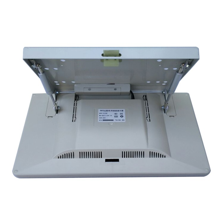 17 Inch DC12/24V 1080P Foldable Gas Spring Monitor