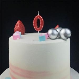Top Mini Colorful Number Shaped Birthday Party Cake Candles