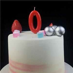 Best Mini Red Number Birthday Party Candles For Cakes