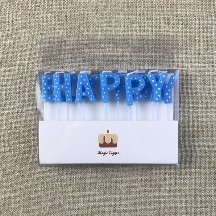 New Style Cheap Happy Birthday Letter Cake Candle Manufacturers, New Style Cheap Happy Birthday Letter Cake Candle Factory, Supply New Style Cheap Happy Birthday Letter Cake Candle
