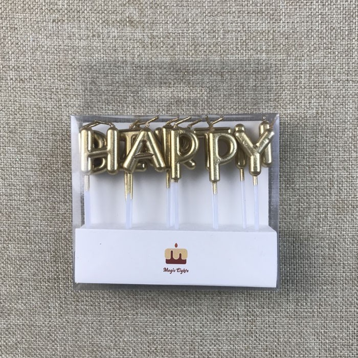 Decorative Gold Letter Shaped Birthday Candles Manufacturers, Decorative Gold Letter Shaped Birthday Candles Factory, Supply Decorative Gold Letter Shaped Birthday Candles