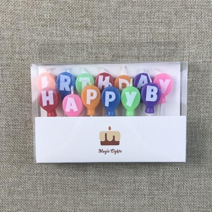 Balloon Alphabet Letters Happy Birthday Cake Candles Manufacturers, Balloon Alphabet Letters Happy Birthday Cake Candles Factory, Supply Balloon Alphabet Letters Happy Birthday Cake Candles