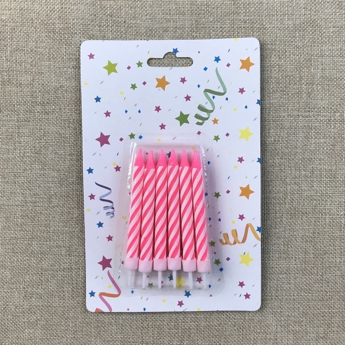 Pink Spiral Taper Birthday Candles Manufacturers, Pink Spiral Taper Birthday Candles Factory, Supply Pink Spiral Taper Birthday Candles