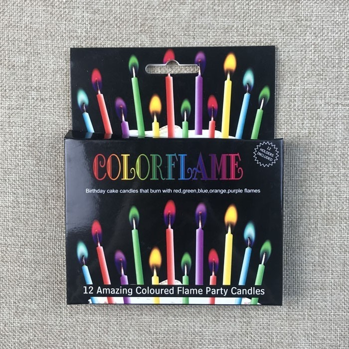Fantastic Six Different Multi Color Flame Birthday Candles In Stock Manufacturers, Fantastic Six Different Multi Color Flame Birthday Candles In Stock Factory, Supply Fantastic Six Different Multi Color Flame Birthday Candles In Stock