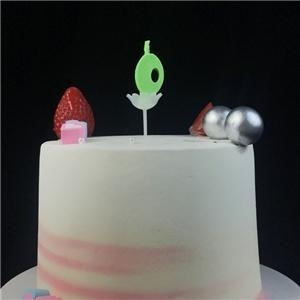 Farbe Flame Number Birthday Candle Company für Kinder