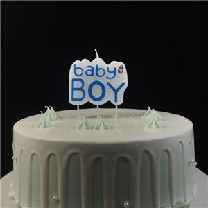 Bougie d'art de fête d'anniversaire personnalisée la plus populaire pour les garçons