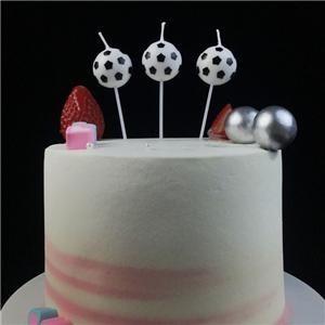 Meilleur bougies de gâteau d'anniversaire de football pour adultes