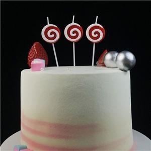Mode-nette Süßigkeits-Geburtstags-Kuchen-Kerzen für Babys