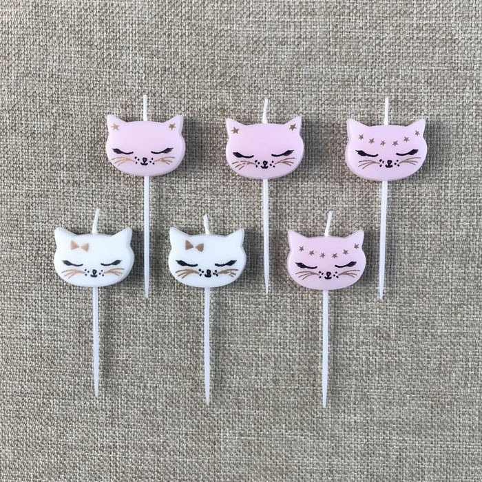 Cartoon Cat Birthday Cake Candle For Girls Manufacturers, Cartoon Cat Birthday Cake Candle For Girls Factory, Supply Cartoon Cat Birthday Cake Candle For Girls