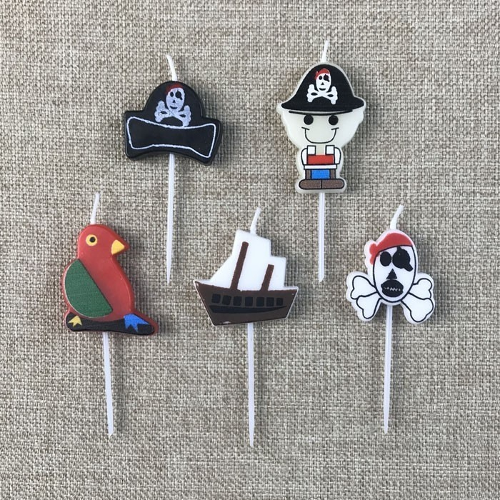 Pirate Themed Cartoon Birthday Cake Candles Manufacturers, Pirate Themed Cartoon Birthday Cake Candles Factory, Supply Pirate Themed Cartoon Birthday Cake Candles
