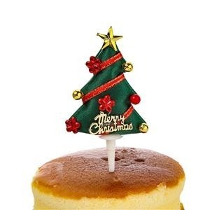 Non Edible Non-Woven Christmas Cake Topper Decorations Bulk