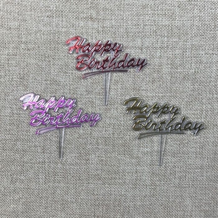 Small Happy Birthday Plastic Cake Decorations Manufacturers, Small Happy Birthday Plastic Cake Decorations Factory, Supply Small Happy Birthday Plastic Cake Decorations