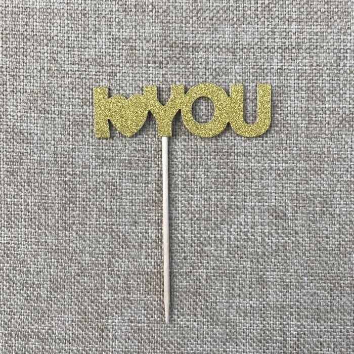 Cheap Personalised Gold Mini Cupcake Picks Manufacturers, Cheap Personalised Gold Mini Cupcake Picks Factory, Supply Cheap Personalised Gold Mini Cupcake Picks
