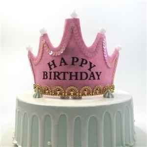 Geführte alles- Gute zum Geburtstagparty-Hut-Krone