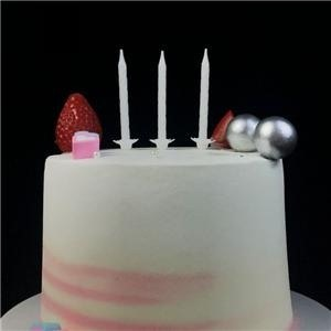 Glow In The Dark White Birthday Party Candles For Cake